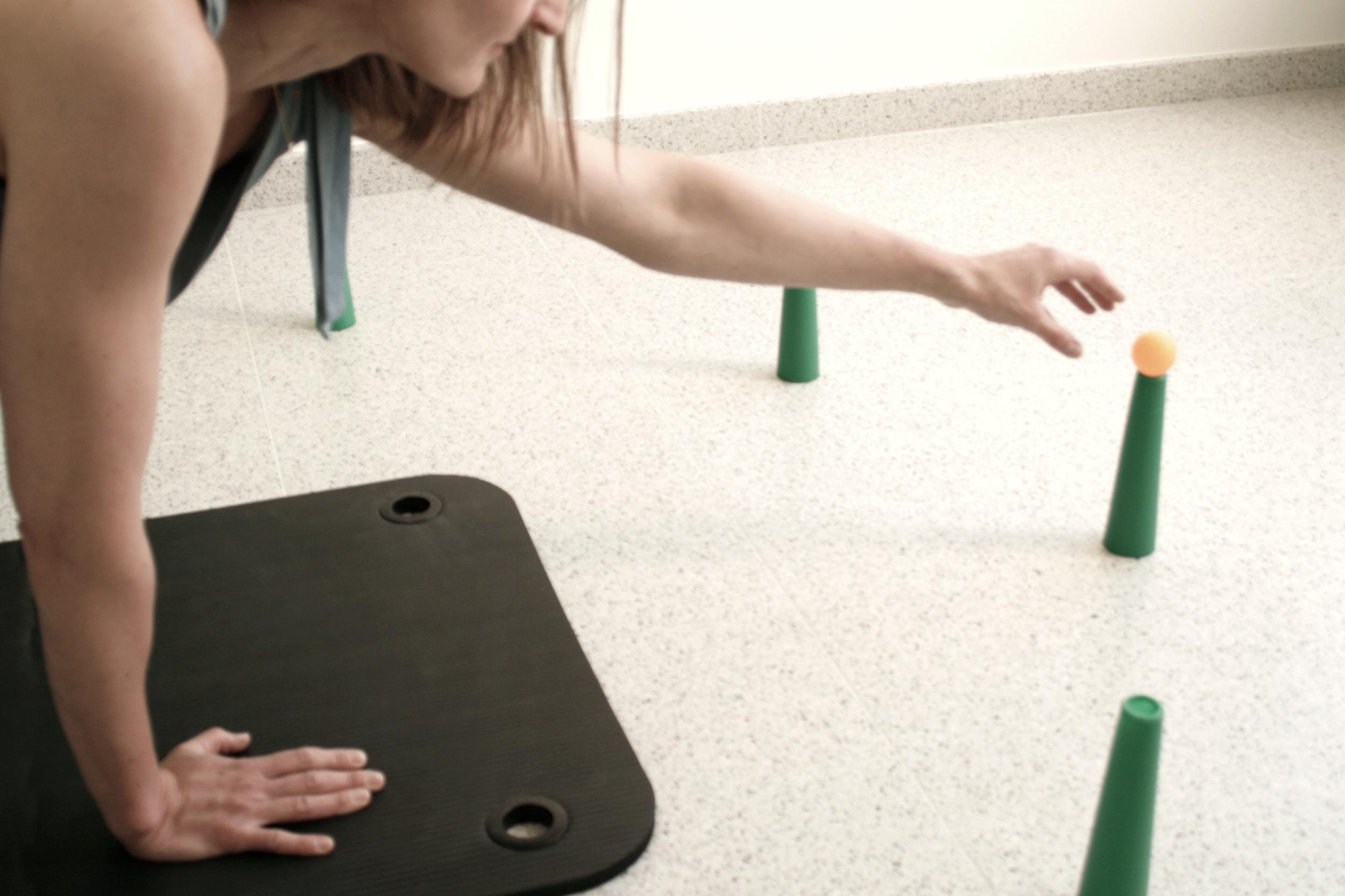 Handtherapie Handrevalidatie grond Oefeningen